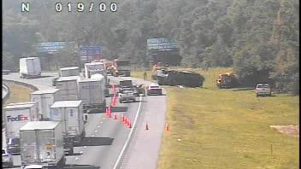 I-75 traffic slowed near Ocala after National Guard fuel