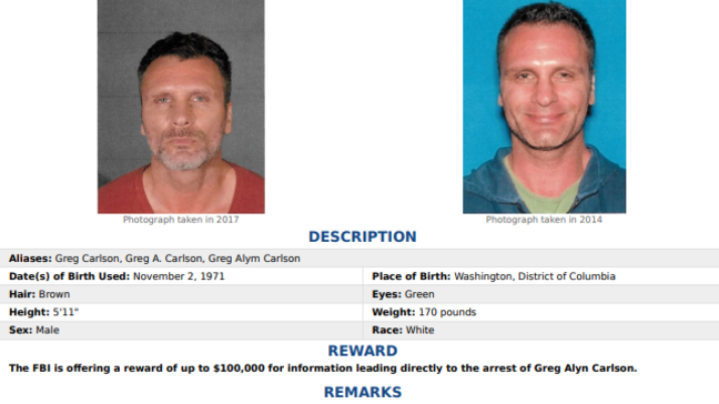 Man on FBI Most Wanted list may be in Alabama or Florida | WGFL
